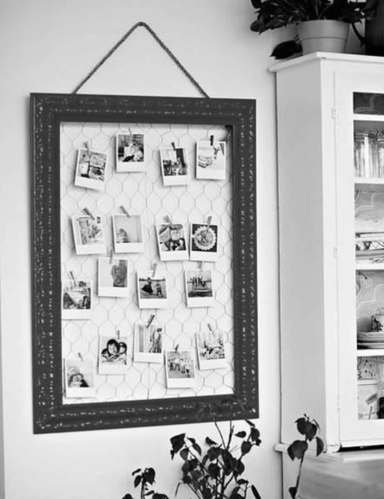 Collage de fotos para la pared