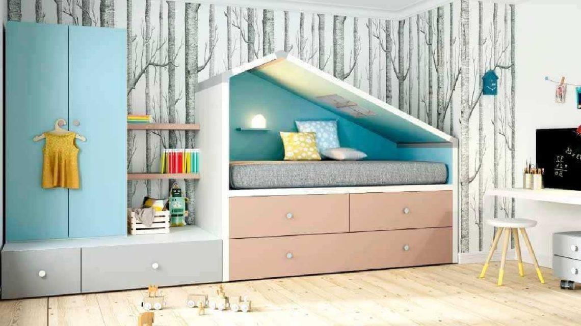 Mejores muebles infantiles para ordenar
