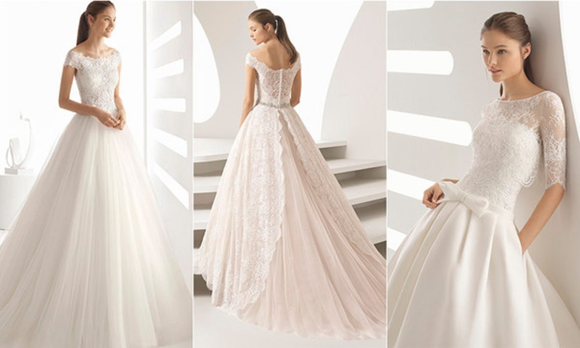 vestidos de novia de Rosa clara