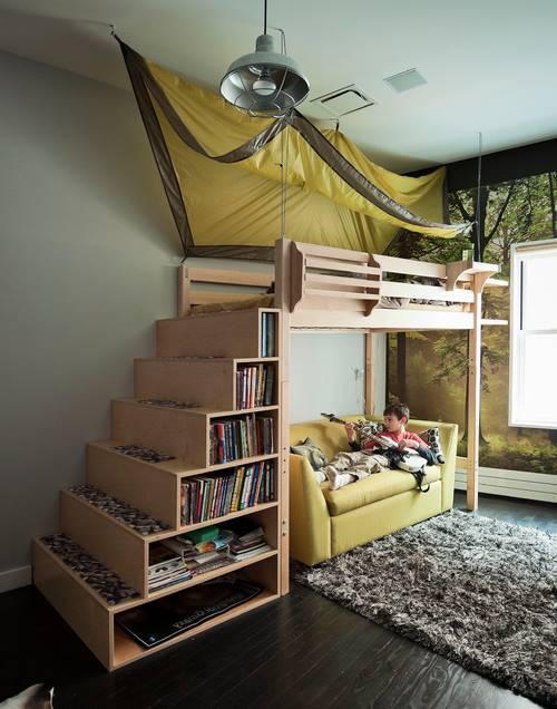 Habitación infantil muy original
