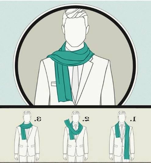 Ponerse la bufanda con estilo