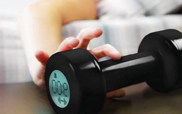 Despertador pesas