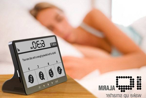 Reloj despertador IQ