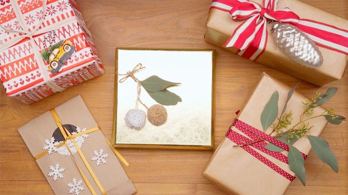 envolver regalo de manera original