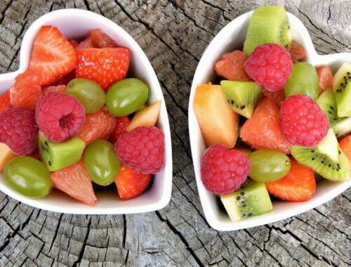 fruta bajar el peso